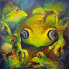 Lots of frogs by Ivana Pinaffo