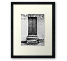 Steps to a Door Framed Print