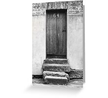 Steps to a Door Greeting Card