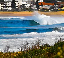 Narrabeen Barrels by Frankie Biltoft