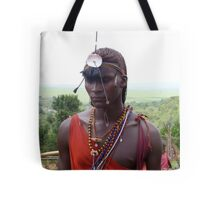 Masai Mara Warrior Tote Bag