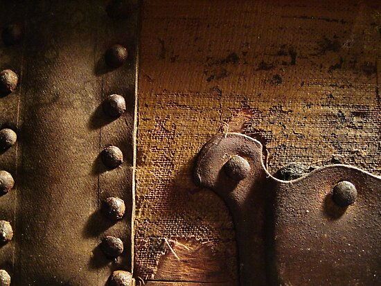 Antique Trunk 1 by marybedy