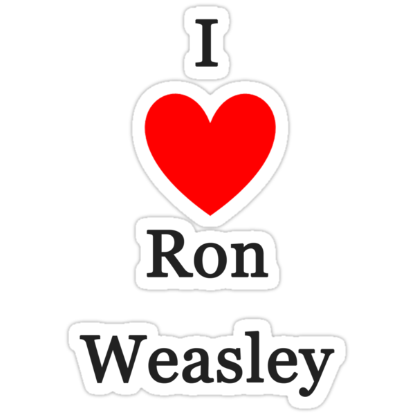 I Love Ron Weasley by meldevere
