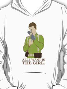 """Indiana Jones - """"All I Want is the Girl"""" T-Shirt"""