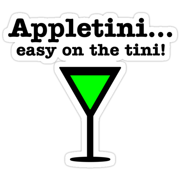 Appletini... Easy on the tini! by patrik777
