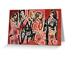 Cherry Bomb (The Runaways) Greeting Card