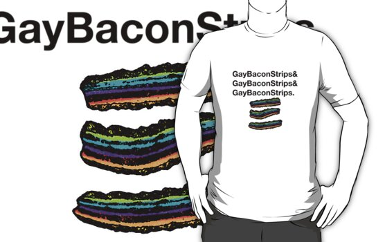 Gay Bacon Strips by mememaster