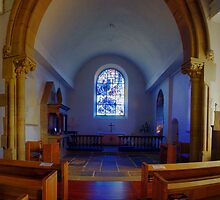 All Saints Church, Tudeley by Dave Godden