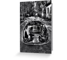 Porsche Speedster 1955 Greeting Card