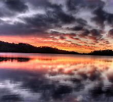 Natures Paintbrush - Narrabeen Lakes,Sydney - The HDR Experience by Philip Johnson