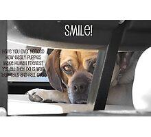 Smile :) Photographic Print