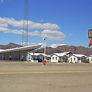 Route 66 - Roy&#x27;s of Amboy, California by Frank Romeo