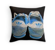 Terry Fox was here.. Throw Pillow