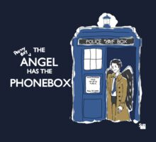 The Prettyboy Angel has the Phonebox by Snellby