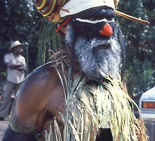 Old & New, Goroka, Papua New Guinea  by Carole-Anne