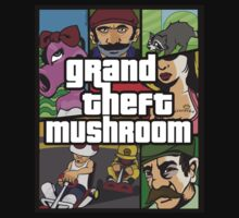 Grand Theft Mushroom by BenClark