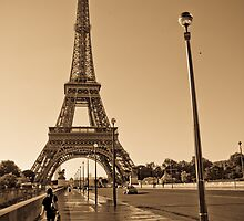 Eiffel Tower, France by Clint Burkinshaw