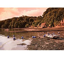Riverside Thatched Cottage Photographic Print