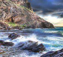 Dramatic Seascape Panorama by Shannon Rogers