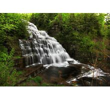 Top Tier of Hector Falls Photographic Print