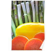 Vegetable Abstract Poster