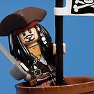 Lego Captain Jack Sparrow by Kevin  Poulton - aka &#x27;Sad Old Biker&#x27;