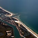 Matanzas Inlet and the Coastline by mimsjodi