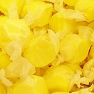 Lemon Yellow Saltwater Taffy by Monica Wolfson