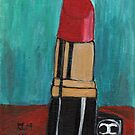 Leaning Tower Of Lipstick by RobynLee