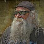 Sturgis Guy by Michael  Gunterman