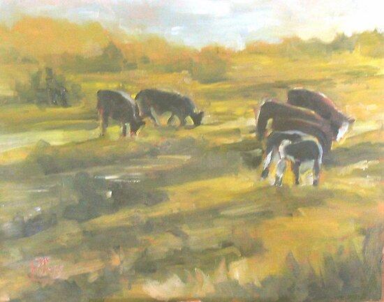 When the cows come home by Patricia Seitz