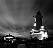 Shining  Light - Pt Lonsdale Victoria by Graeme Buckland