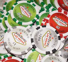 Poker Chips by nervouspilchard