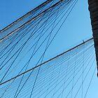 Brooklyn Bridge Abstract by Leon Heyns