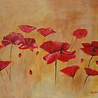 Poppies by olivia-art