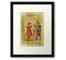 My Mother's Story Framed Print