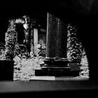 Ancient names fragments - Jewish cemetery in Zabrze by Jacek Lidwin