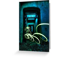 door of light Greeting Card