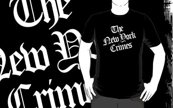 The New York Crimes Shirt by phrend