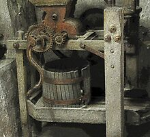 Antique Winemaking Press Hermann, MO by Sherry Hunt