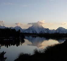 Mt Moran by Paul Simms