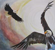 they shall mount up with wings as eagles by Almeta