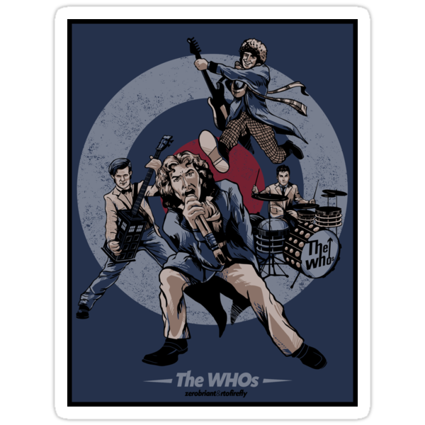 The WHOs Sticker by zerobriant