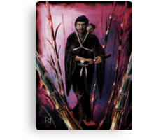 LONE WOLF and CUB ! Canvas Print