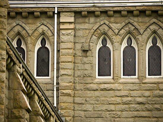 Church Windows by Rae Tucker