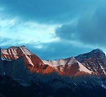 Colorado Rockies Morning by Eileen McVey