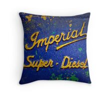 Imperial Super Diesel Throw Pillow