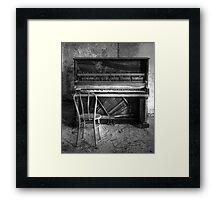 Norwich Piano, Hallet, Davis & Co from Boston Massachusetts Framed Print