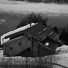 Black and White Chalet by TJHarper93