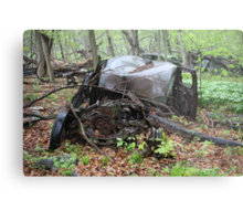March Old Motor Car Metal Print